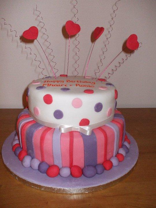 Birthday Cakes Scottish Borders